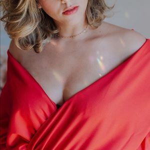 Red/Pink Brenda Silveira Jumpsuit